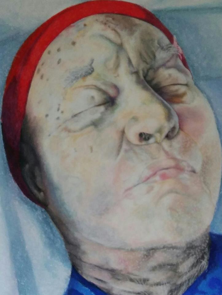 """The second portrait """"Death"""""""